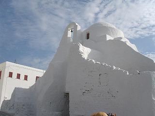 ミコノス白教会