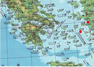ギリシャ旅行パトモス島070