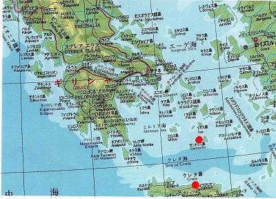 サントリーニ島地図072