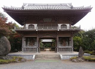 小川寺山門