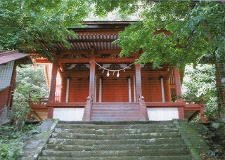 石勝神社水平