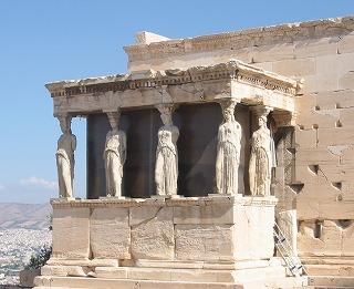 アテネ少女像