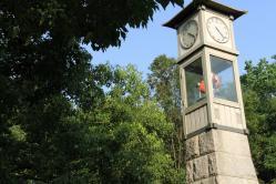 人形の時計塔