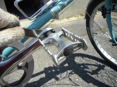 自転車の 自転車 ペダル 交換 外れない : MiniveloG : ハーフクリップの効果 ...