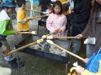 環境フェスタ 竹パン