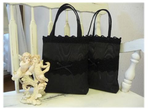 モアレ黒バッグ-1