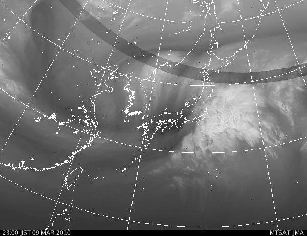 気象映像20100309