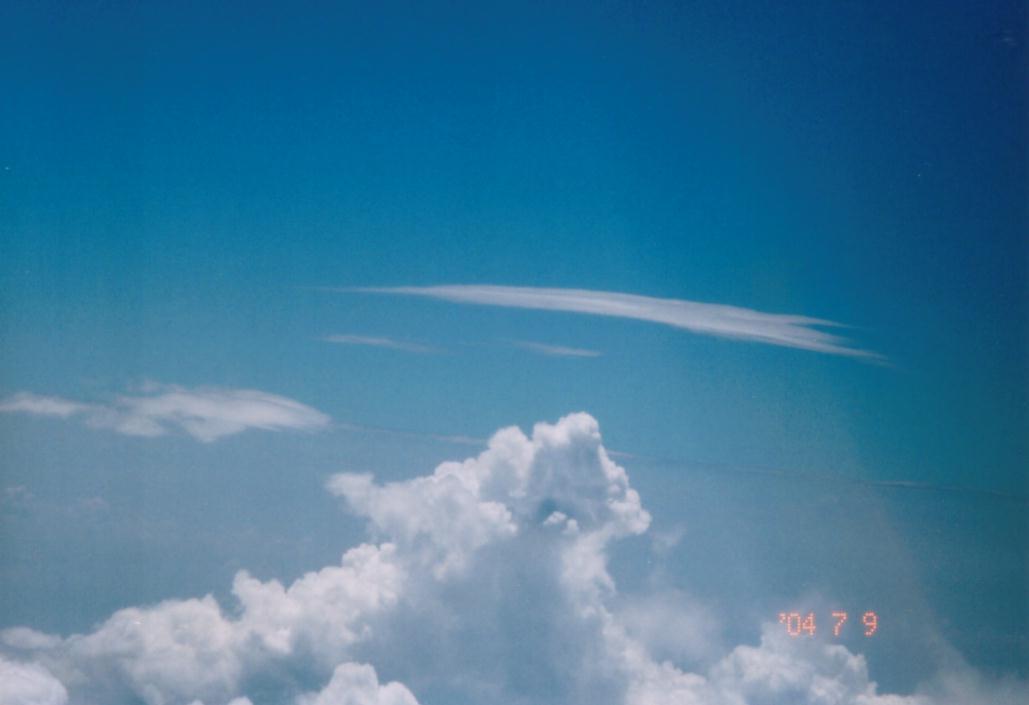 上空の母船雲
