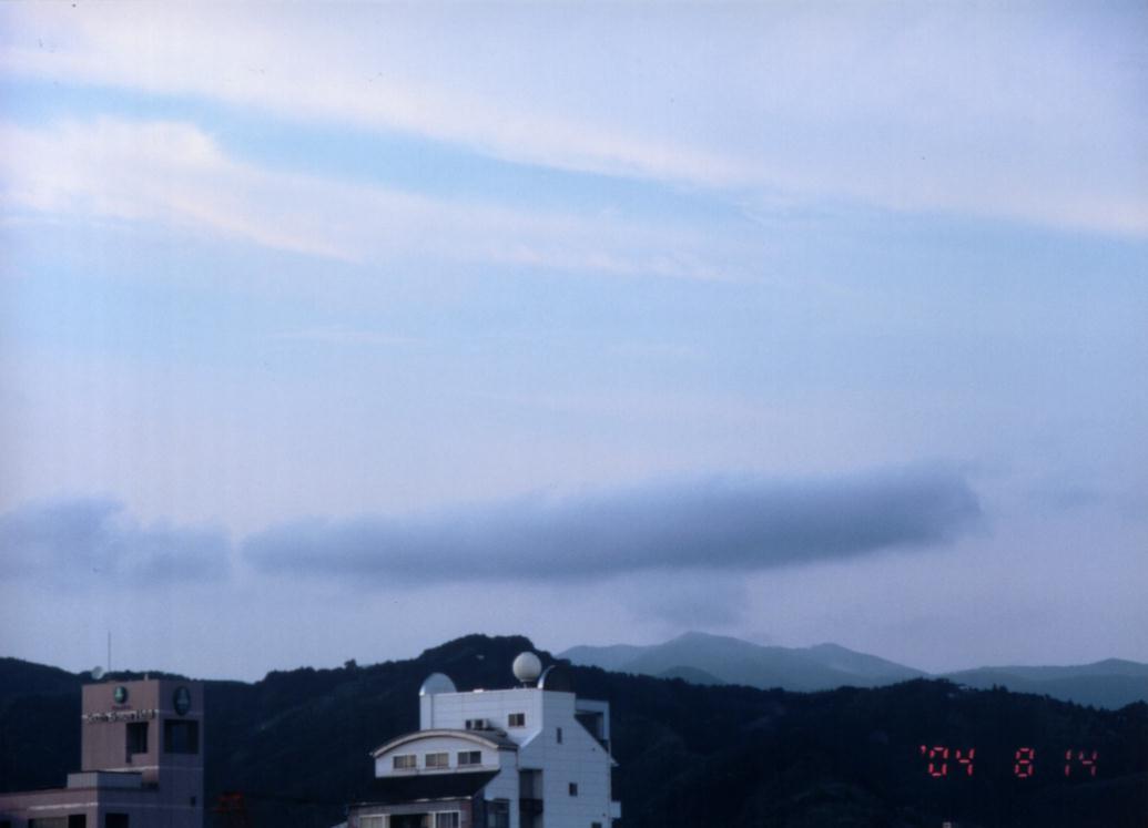 母船雲  滞空 040814