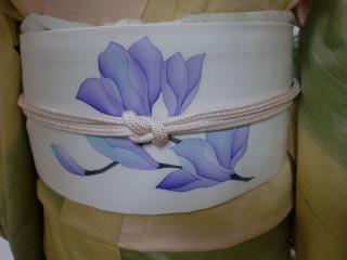 紫木蓮帯アップ