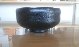 黒楽茶碗1