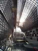 京都駅の上