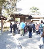金閣寺入口