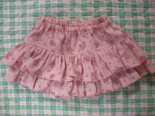 バラのスカート