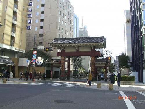 増上寺・大門