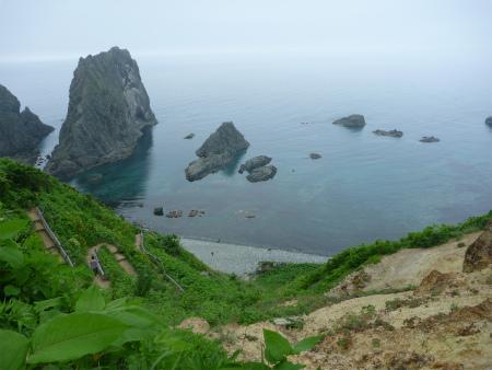 島武意海岸?