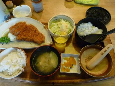 赤ひげ ロースカツ定食