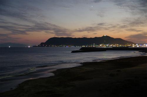 函館山の夕焼け