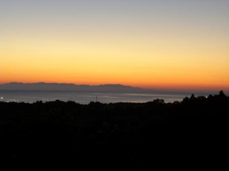 夜明けの風景?