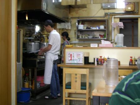 滋養軒厨房