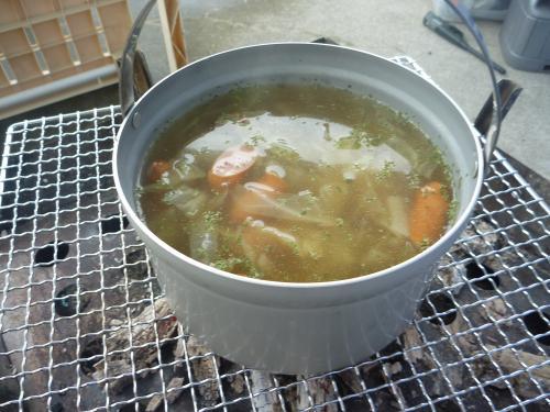 スープ完成!
