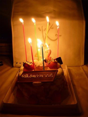 バースデーケーキ2010