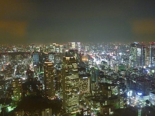 東京タワー 夜景?