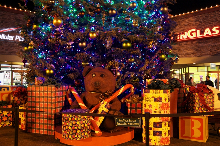 クリスマスツリー@ウッドバーン2
