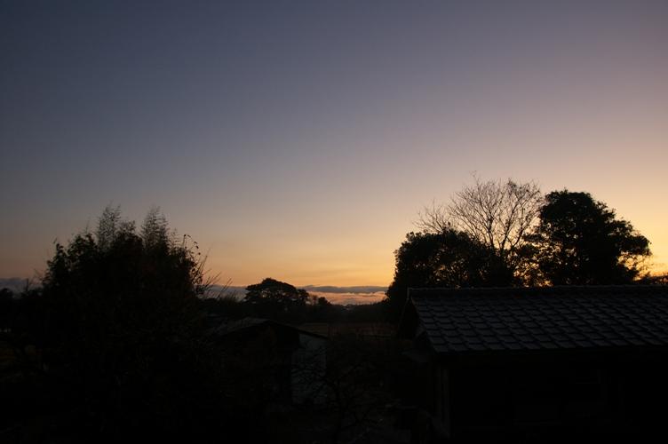 朝焼け in 日本1