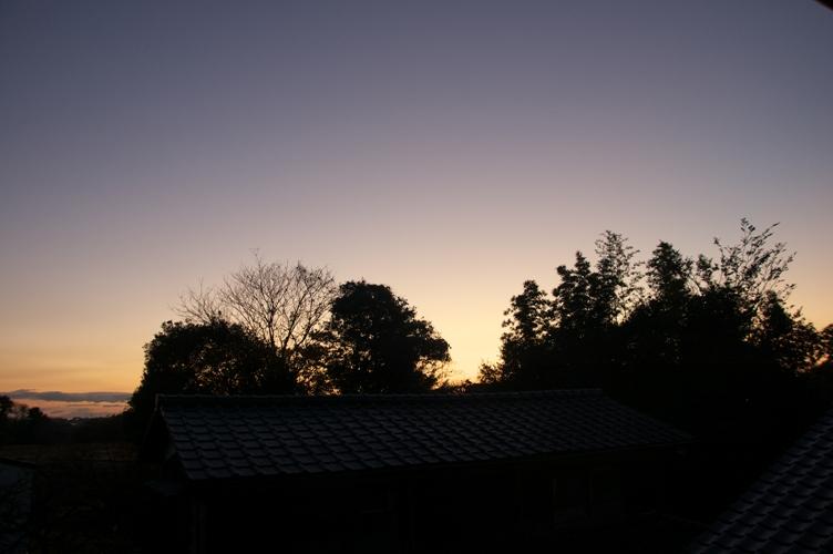 朝焼け in 日本3