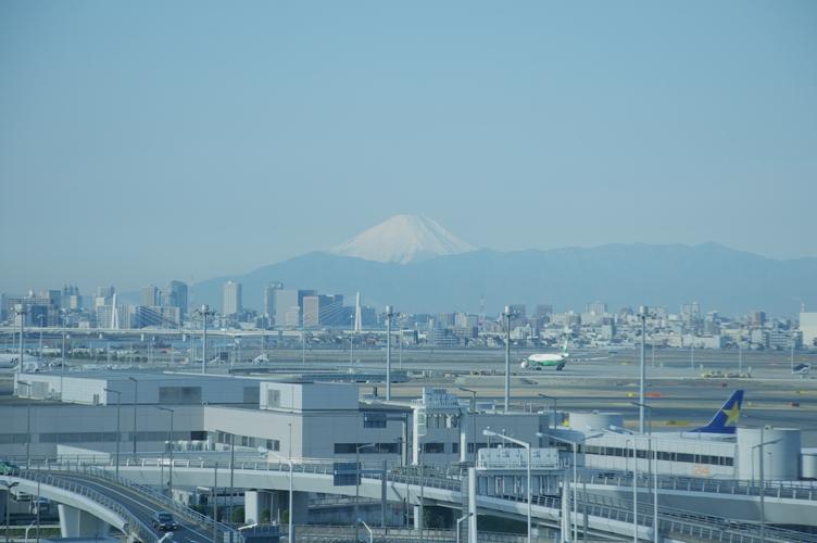 羽田から富士山2