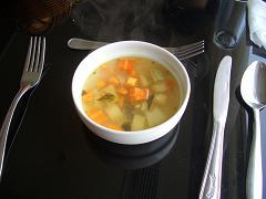 六日目昼スープ