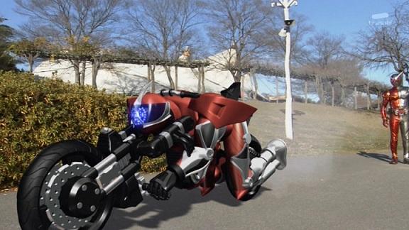 仮面ライダーアクセル バイクフォーム