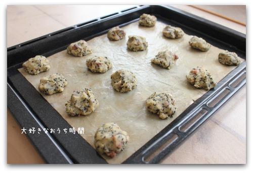 クッキー焼成前
