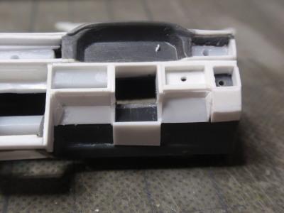 運転席側の造形下部