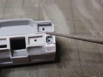 ダッシュボード修正中スイッチ枠修正削り