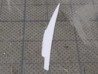 サイド修正 プラ板