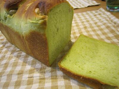 抹茶豆パン