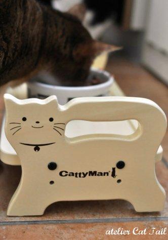 猫ちゃん用お食事テーブル♪^^