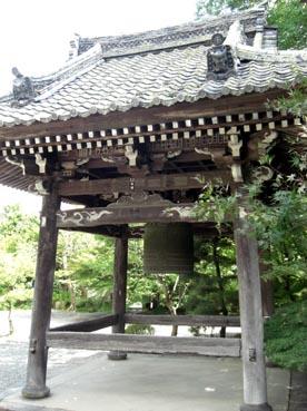釣鐘:穴太寺