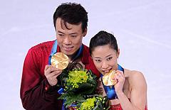 フィギュアスケート申雪・趙宏博
