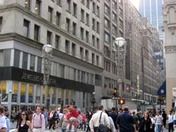 マンハッタンのダイヤモンドストリート