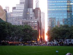 42th streetにあるBryant Park