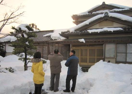 日本的建築に興味深深