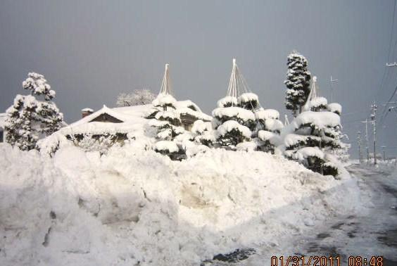大雪の証明