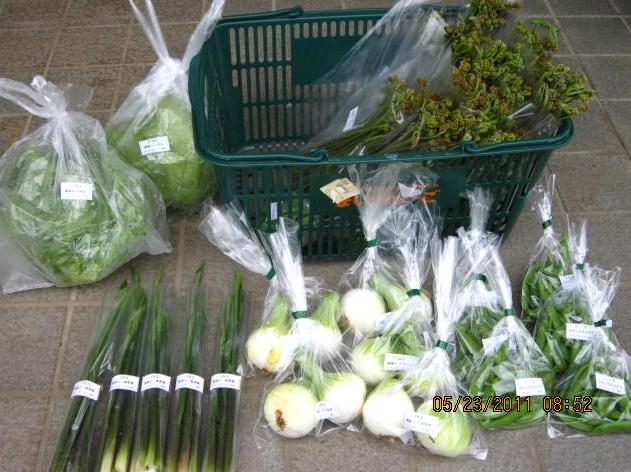多品目の野菜