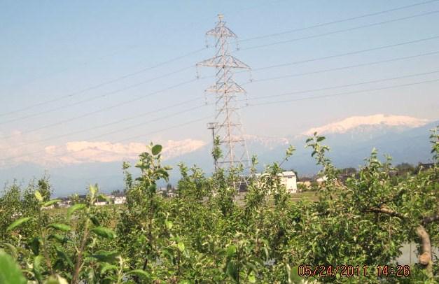 雄山と薬師岳