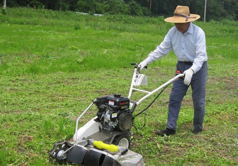 自動草刈機講習