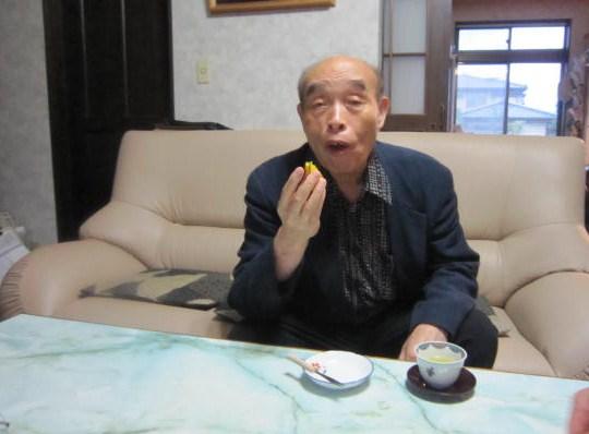 佐藤先生・パンプキンの試食