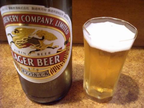 もつ焼道場・ビール